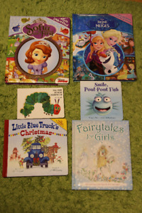 NEW Educational books for toddler girl 1-5