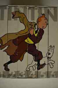 Collection TINTIN VHS Couleur - Tintin color VHS collection