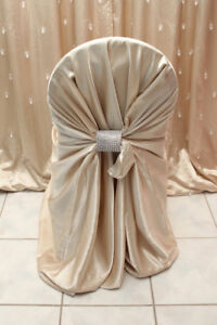 Banquet chair covers & Napkins - Satin- Rent and sell