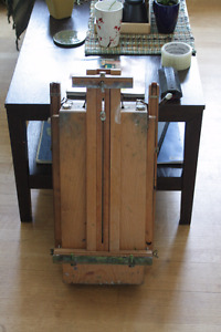 French Style Field Easel for Painting