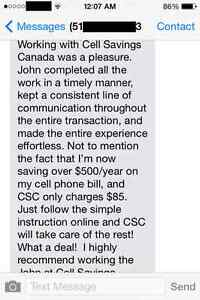 56$/Mth 6GB LTE Unlimited TALK/TEXT NATION Cell Savings by John London Ontario image 3