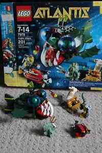 Lego Atlantis Angler Attack set 7978