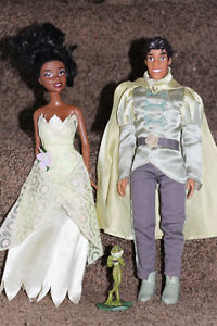 Princess and the Frog dolls