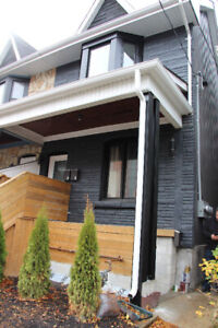 2 Bedroom Renovated legal Basement apartment (Queen and Leslie)