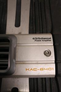 Kenwood KAC-8401 multi-channel power amplifier