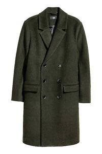 H&M Double Breasted Wool Coat - Brand New With Tags
