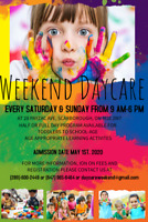 WEEKEND DAYCARE/WEEKEND CHILD CARE