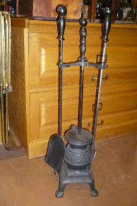 Fire place tools, and Accessories