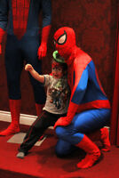 Invite a superhero to your party or event