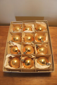 Vintage Boxes of Glass Christmas Ball Ornaments #1 London Ontario image 7