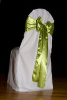 Lime Satin Sahes & Table Runners for Sale