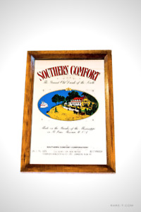 Vintage 'SOUTHERN COMFORT' Bar/Pub Advertisement Mirror