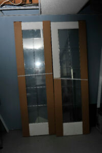 French Doors - Leaded Glass- still in packaging