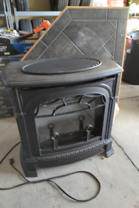 NATURAL GAS-ELECTRIC FIREPLACE