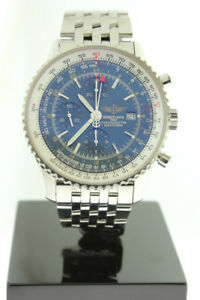 Breitling Navitimer World GMT 46mm Chronograph Automatic A24322