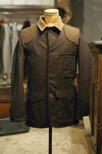 MENS FILSON WOOL TWEED HUNTING JACKET - SIGNED BY NIGEL CABOURN