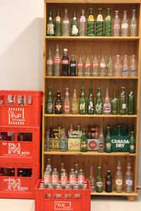 Painted Label Pop Bottle Collection - Vintage and Contemporary