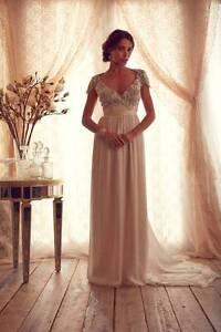 Wedding dress - Anna Campbell (Size 8-12) Warana Maroochydore Area Preview