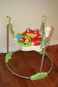 Fisher-Price Rainforest Jumperoo BABY BOUNCER (sauteuse bébé)