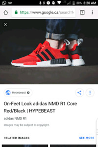 Adidas NMD R1 CORE RED _ deadstock size 9.5 US
