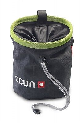 Ocun Chalk Bag Push - Schwarz Grün