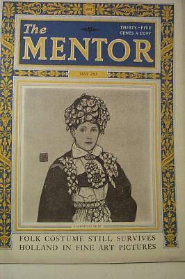 1923 Kostüme (Mentor Alt Magazin May 1923 Folk Kostüme)