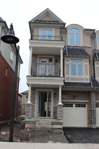 Never lived, brand new End unit townhouse for rent in waterdown