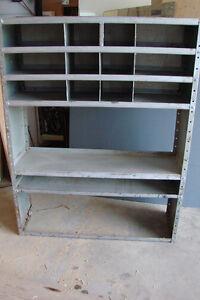 Metal Storage Shelves or Bin