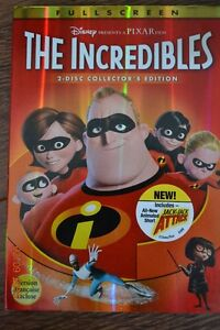The Incredibles DVD Movie