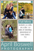 Fall Photoshoots of your choice