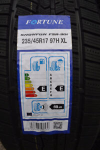 New 235/45R17 winter tire, $440 a set tax in