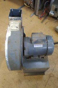 Dayton High Pressure Blower With Motor- 4C108, Emerson 1HP Motor