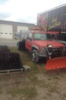 1996 GMC Dump truck With Plow
