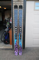 2011 189 K2 Obsethed w/ Marker Baron Bindings and Skins