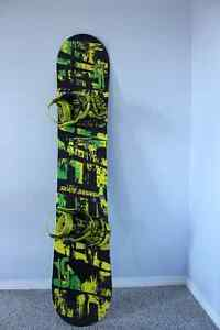 153 LibTech Skate Banana with Bindings