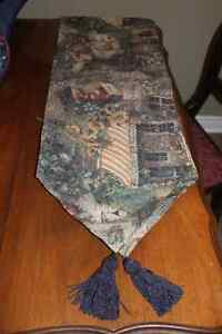 New Tapestry Type Fabric Table  /  Buffet Runner