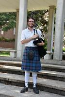 Scottish Bagpipe Lessons