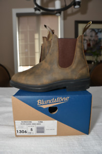 Blundstone UNISEX boots RUSTIC - BROWN