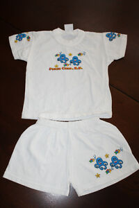 T-shirt and Shorts Outfit- 2T