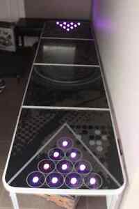 LED Light up Official Beer Pong Table Mancave Sign Glow
