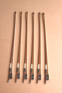 4/4 Full Size Brazilian Wood Violin Bows - $40.00