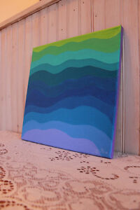 Small abstract painting West Island Greater Montréal image 2
