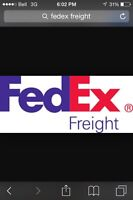 Looking for class 1 driver (fedex freight)