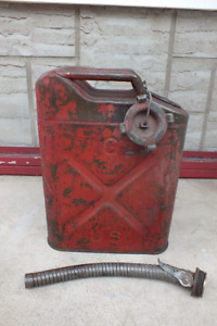 Vintage US military gas jerry can 5 gal