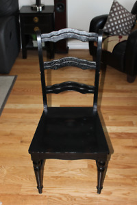 PIER 1 IMPORT DINING ROOM CHAIRS