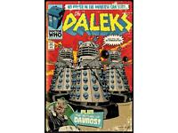 Doctor Who Maxi Poster 61cm x 91.5cm new and sealed The Daleks Comic