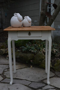 Tall Table with Single Drawer
