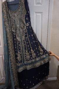 wedding dress Indian/pakistani lehnga choli (walima) brand new