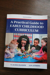 A Practical Guide to Early Childhood Curriculum (tenth edition)