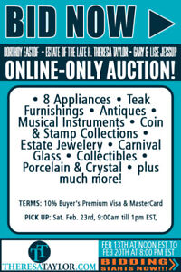ON-LINE AUCTION ONLY